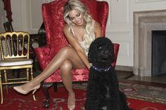 Beyonce at the white house with Bo