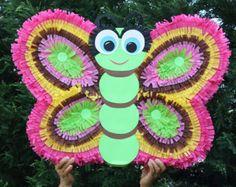 Mariposa piñata - mariposa gran Piñata - Mariposa