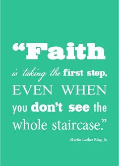 Faith. Stairs. Climb.
