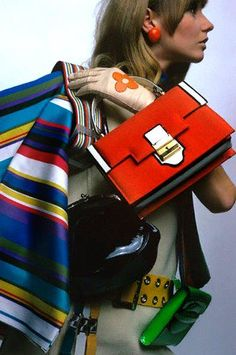 Accessories galore! Mod Fashion, 1960s