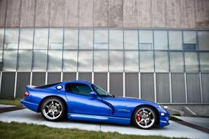 Supercharged Dodge Viper GTS