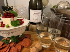 Paglione Estate Winery Sofia 2018 with Cranberry Salsa. 😊 Happy indeed! Paglione Sophia is perfect for any special occasion! Stay At Home Chef, Cranberry Salsa, Essex County, Complete Recipe, Fresh Ginger, Wineries, Cilantro, Brewery