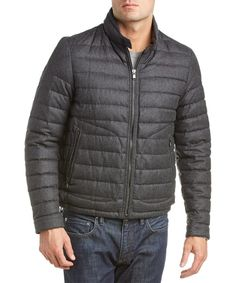 MONCLER Moncler Delabost Wool Quilted Jacket'. #moncler #cloth #coats & jackets