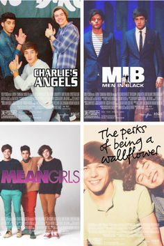 I would see these movies. :) But Niall is in none of these :(