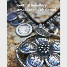Hilltribe silver necklace. BOWTIFUL JEWELLERY LAMAI BEACH.KOH SAMUI #hilltribesilver #thailand #samuiisland #samuitrip #kohsamui #bowtifulsamui #samuijewelry #bowtiful #bowtifuljewellery #lamaibeachthailand #lamai #handmade #handmadewithlove #handicraft #shop #bohemian  #jewelry #jewellery #handmadejewellry #samuiholiday  #samuishopping #amazingthailand #TagsForLikes.com #love #beautiful #ootd #style #fashionista #accessory #instajewelry by bowtiful_samui