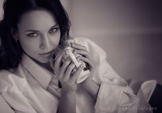 good morning :) - Lazy Angelina - by Chris Ruhrmann