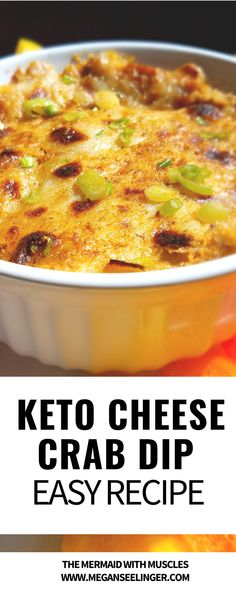 Recipe for crab dip with cream cheese. This keto crab dip is baked and served with rainbow bell peppers for dipping in stead of crackers or you can make some homemade low carb crackers if you prefer…More Crab Dip Recipes, Seafood Recipes, Seafood Bake, Cracker Dip, Low Carb Recipes, Cooking Recipes, Aperitivos Keto, Low Carb Crackers, Dip For Crackers