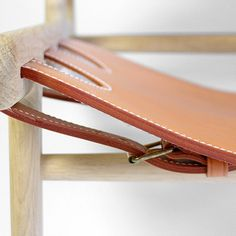 Tower Mill Concept // Danish Design, Hunting Chair by Borge Mogensen Leather Furniture, Wood Furniture, Furniture Design, Leather Chairs, Deco Boheme Chic, Do It Yourself Furniture, Danish Furniture, Furniture Dolly, Leather Design