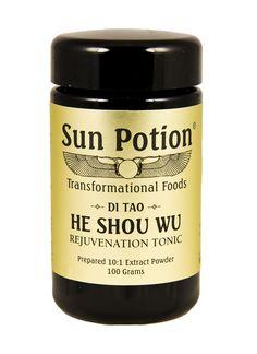 He Shou Wu: Wildcrafted, 80g jar