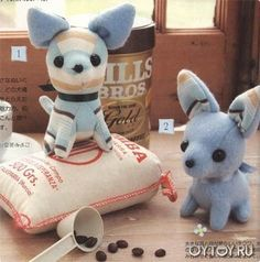How to sew a dog - class for creating a dog. free pattern and detail tutorial - orig Russian site *I posted the translated version here - any problems let me know