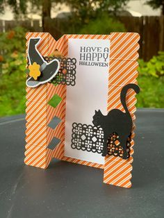Halloween Cards, Fall Halloween, Happy Halloween, Halloween 2020, Thanksgiving Cards, Holiday Cards, Stampin Up Paper Pumpkin, Cat Cards, Greeting Cards