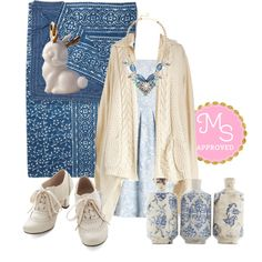 In this outfit: Young at Sweetheart Dress, Lavish-ful Thinking Quilt, Perenially Prismatic Necklace, You Don't Know Jackalope Cotton Ball Container, Early Morning Date Cardigan in Oatmeal, Artifact Finder Vase Set, Dance Instead of Walking Heel in Cream #winter #fashion #outfits #gifts #giftguide #style #cozy #ootd