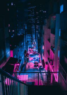 Cyberpunk City, Ville Cyberpunk, Cyberpunk Aesthetic, Purple Aesthetic, Aesthetic Art, Cyberpunk 2077, Cyberpunk Tattoo, Cyberpunk Fashion, Wallpaper Iphone Neon