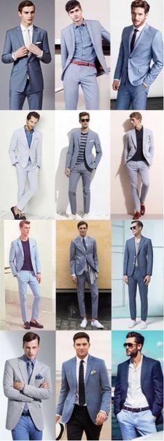 Men's Fashion - Lookbook Inspiration: Full Suit & Separates