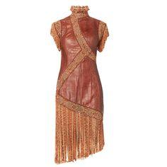 Givenchy snakeskin dress, Spring/Summer 2001 1