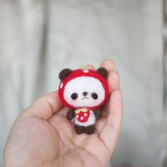 cute panda looking for a loving new home.