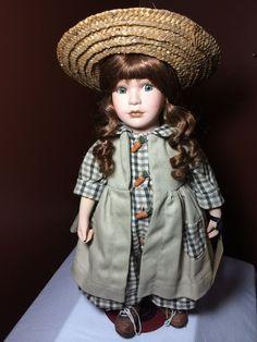 Boyds Yesterday Child  Julia  Procelain Doll