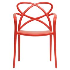 Huxley Arm Chair in Red