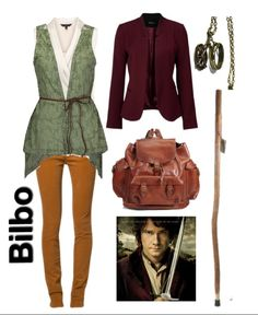 """The Hobbit: An Unexpected Journey """"Bilbo Baggins"""" Inspired Fashion Nerd Fashion, Fandom Fashion, Casual Cosplay, Cosplay Outfits, Coldplay, Nerd Mode, Hobbit Costume, Character Inspired Outfits, Fandom Outfits"""