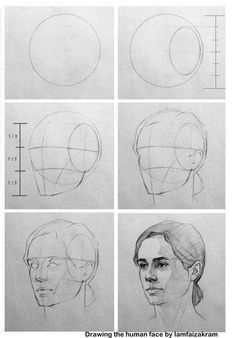 These Pencil Portrait Lesson offers an illustrated step by step tutorial that guides you through Drawing a Pencil Portrait from start to finish. Portrait Sketches, Art Drawings Sketches Simple, Pencil Art Drawings, Realistic Drawings, Pencil Portrait, Face Pencil Sketch, Drawing Heads, Human Drawing, Drawings Of Faces