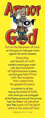 Armor of God - Bookmarks