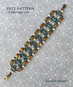 Free Beaded Bracelet Patterns Beginners few Beaded Jewelry Making Classes Near Me our Jewelry Stores Near Me With Layaway Bead Embroidery Patterns, Beading Patterns Free, Beaded Embroidery, Free Pattern, Loom Patterns, Knitting Patterns, Embroidery Bracelets, Beading Ideas, Beading Supplies