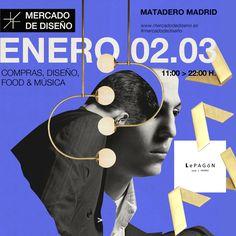 nos vemos en Mercado central de diseño los días 2 y 3 de enero en Matadero Madrid