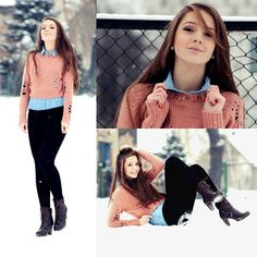 Lovely Winter ♥ (by Klaudia Grondowy) http://lookbook.nu/look/4483955-Lovely-Winter