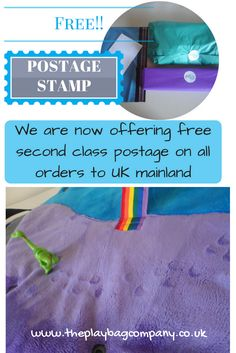 Did you know that we are now offering free postage on all our orders to mainland UK.