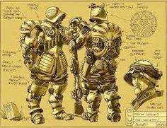 Resultado de imagem para ilustração de motos steampunk em hd