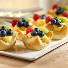 Pepperidge Farm® Puff Pastry - Recipe Detail - Vanilla Fruit Tarts