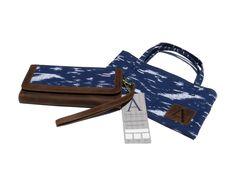 Hermosa billetera de cuero para mujer con un detalle de tapiz de algodón! Incluye una bolsa/cartera de tela. Tu nuevo accesorio favorito está aquí!    https://www.kickstarter.com/projects/841976228/anqa-wallets-changing-a-country-through-design