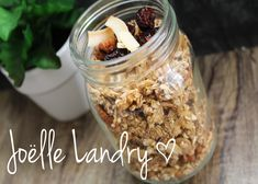GRANOLA MAISON SANTÉ NON-SUCR Smoothie Bol, I Love Food, Oatmeal, Brunch, Nutrition, Healthy, Breakfast, Recipes, Desserts