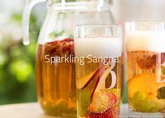 Rezept: Sparkling Sangria - Sangria mit Cava. Alle Informationen: Zutaten, Garnitur, Glas, Zubereitung, ...