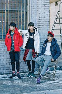 BTS Bangtan Boys for PUMA - Jungkook, Jin, & J-Hope
