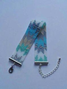 off loom beading techniques - Ideas & Thoughts Loom Bracelet Patterns, Bead Loom Bracelets, Beaded Jewelry Patterns, Woven Bracelets, Beading Patterns, Beading Ideas, Beading Supplies, Bead Loom Designs, Bead Crochet Patterns
