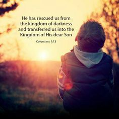 Kingdom of light is always the opposite of the wordly kingdom ( of darkness)