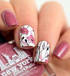 Popular nail art spring time 14
