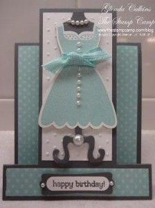 Stampin' Up! All dressed up with Dress up Framelits