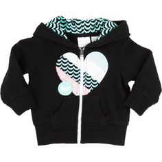 RoxyGroovy Full-Zip Hoodie - Infant Girls'