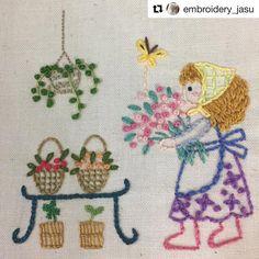 @embroidery_jasu #needlework #handembroidery #ricamo #bordado #broderie #embroidery