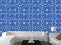 Pop Decors creates Planet Leaves wallpaper. It is super easy for installation, just peel and stick no paste required. You can relocate wallpapers
