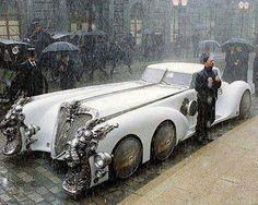 strange car. League of extraordinary gentlemen the movie car.