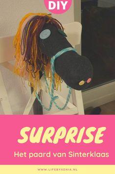 Met dit surprise paard maak je niet alleen een super leuke surprise maar hij is ook snel en makkelijk om te maken. Pimp hem met verschillende kleuren wol, leuke gekleurde knopen of maak er een eenhoorn van Easy Peasy, Diy Tutorial, Diys, Inspiration, Om, Kids Crafts, December, Lifestyle, Biblical Inspiration