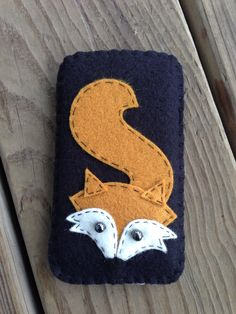 Wool Felt Fox Iphone 5 Case Sleeve