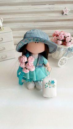 Купить Куколка- малышка. Соня. - куколка, куколка в подарок, турист, курорт, текстильная кукла