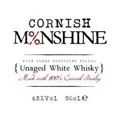 Cornwall-Creative---Cornish-Moonshine-(Website-Center-Logo-2) Cornwall, Whisky, Liquor, Website, Logo, Creative, Alcohol, Logos, Logo Type