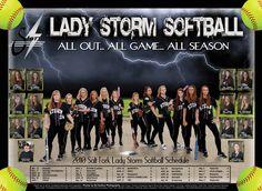 softball photography poses | Salk Fork Lady Storm Softball Oologah Baseball