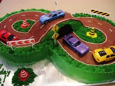 Easy Race Car Birthday Cakes | http://www.sugarliciousonline.com/cakes/birthday/hobbies/images/ful ...