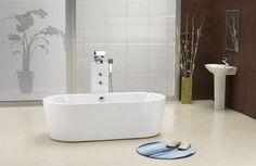 Victor 70-inch Dual Acrylic Bathtub